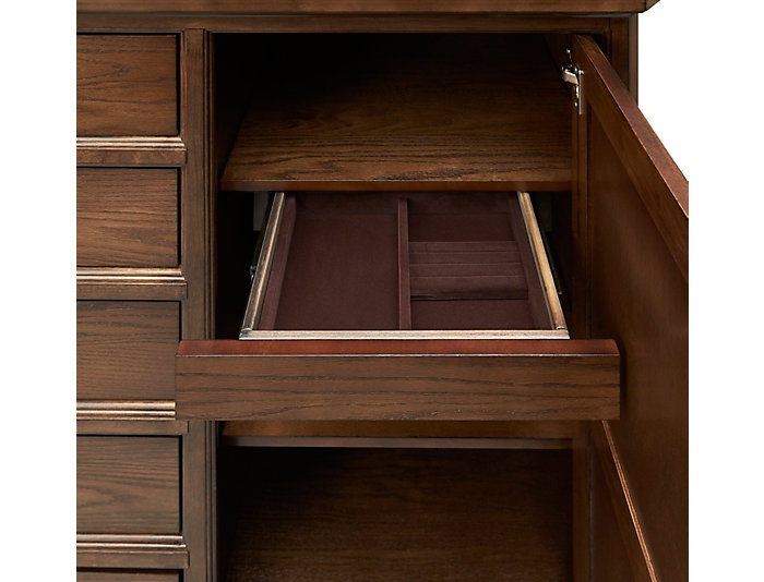 Telluride 6 Drawer Gent Chest, , large