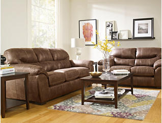 Mason 7 Piece Room Package, Silt Brown, Silt Brown, large