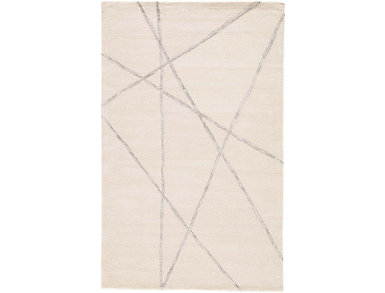 Navonna White/Grey Rug 2x3, , large