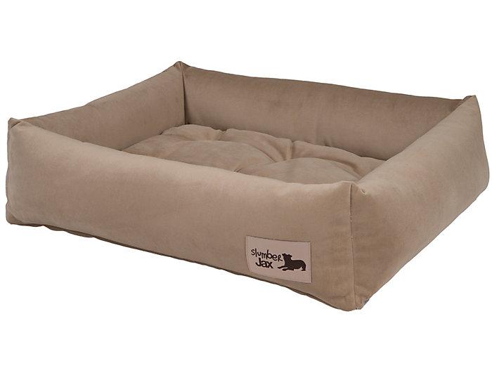Spa Burlap Large Dozer Bed, Beige, , large