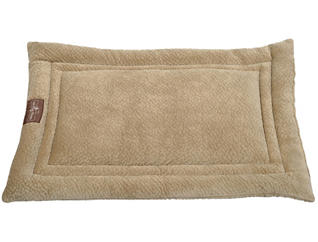 Cozy Extra Large Dog Crate Mat, Beige, , large