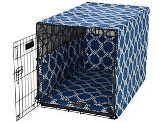 Medium Crate Pet Cover, Blue, , large