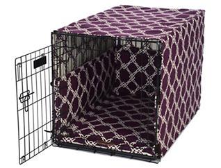 Medium Crate Pet Cover, Purple, , large