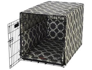 Large Crate Pet Cover, Smoke Grey, , large