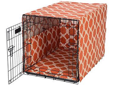 Large Spice Crate Pet Cover, Orange, , large