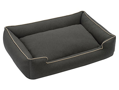 Lounge X-Large Pet Bed, Black, , large
