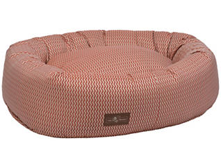 Donut Medium Pet Bed, Rust, , large