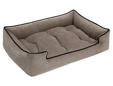 X-Large Sleeper Pet Bed, Grey, , large