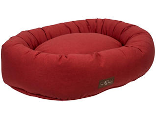 Donut Extra Large Pet Bed, Turmeric Red, , large