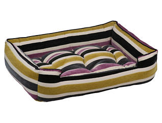 Small Sleeper Pet Bed, Orchid, , large