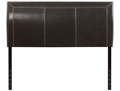 Florence Full Headboard, Brown, , large