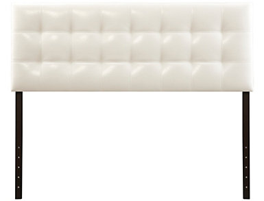 Florence Queen Headboard, White, , large