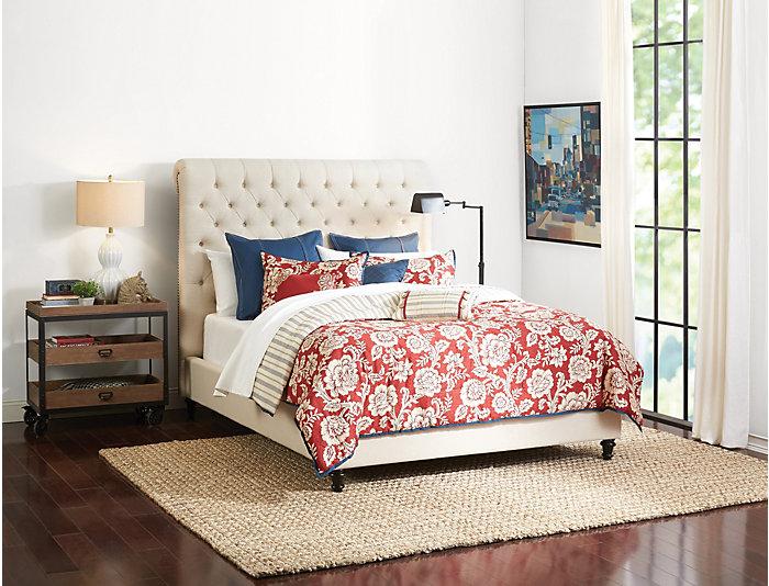 Addison King Upholstered Bed, , large
