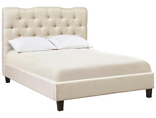 Ariel Queen Upholstered Bed, , large