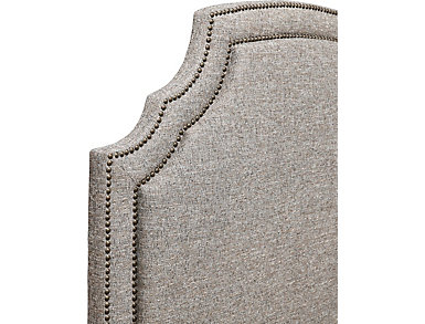 Cordova Mineral Queen Upholstered Bed, , large