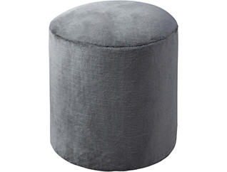 Furry Ottoman, , large