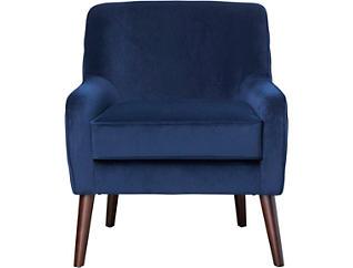 Hayley Pleated Velvet Chair, , large