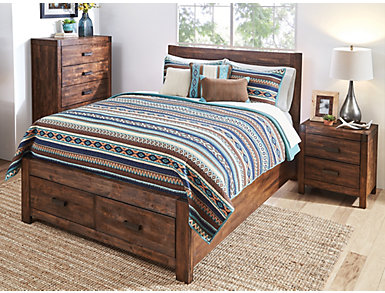 Qu Malone 6 Piece Quilted Coverlet, , large