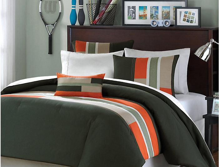 Circuit Full Comforter Set, , large