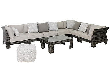 Arianne 7 Piece Sectional Set, , large