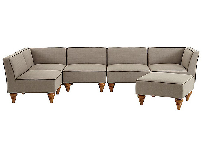 Stannis 6 Piece Sectional Set, , large