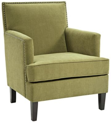 Colton Accent Chair, Green, swatch