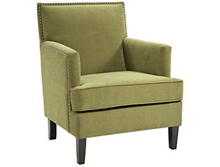 Colton Accent Chair, Green/Citron, , large