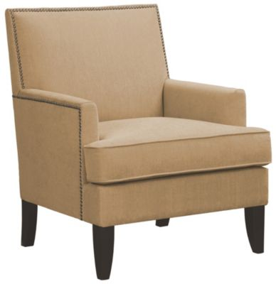 Colton Accent Chair, Beige, swatch
