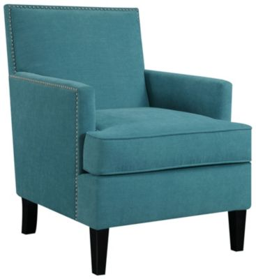 Colton Accent Chair, Blue, swatch