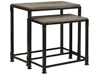 Cirque Nesting Tables, Grey, , large