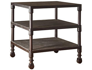 Cirque End Table, Grey, , large