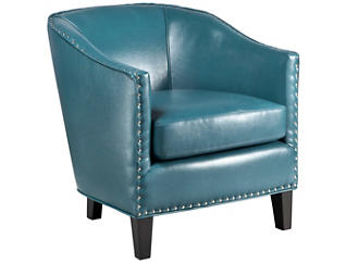 Fremont Accent Chair, Peacock Blue, , large