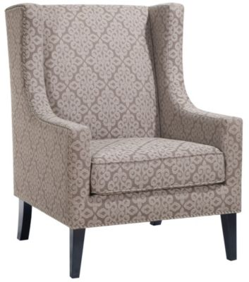 Barton Wingback Chair, Beige, swatch
