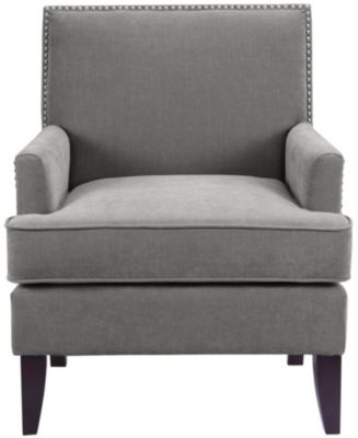 Colton Accent Chair, Grey, swatch