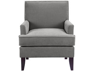 Colton Accent Chair, Grey, large
