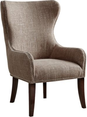 Hancock Wingback Chair, Beige, swatch