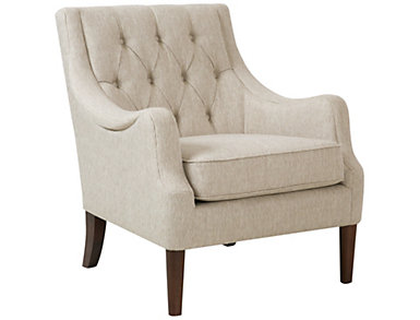 Qwen Accent Chair, Ivory/Cream, , large