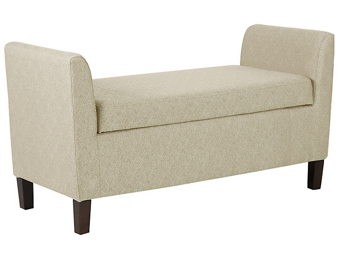 Coco Linen Storage Bench, , large