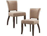 shop Brown-Dining-Chair-(Set-of-2)