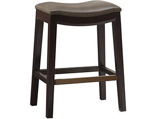 Mushroom Saddle Counter Stool, , large
