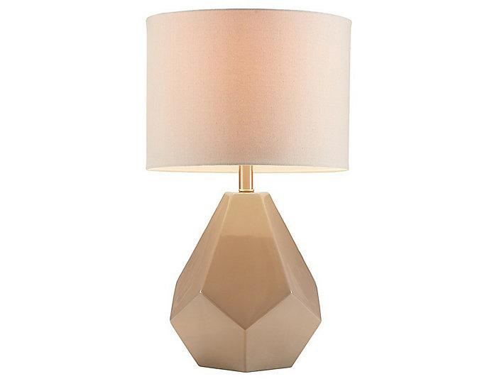 Facet Grey Table Lamp Art Van Home