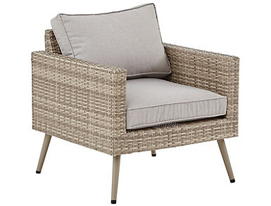Euron Lounge Chair, Beige, , large