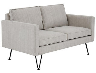 Bran Lounge Loveseat, Beige, , large