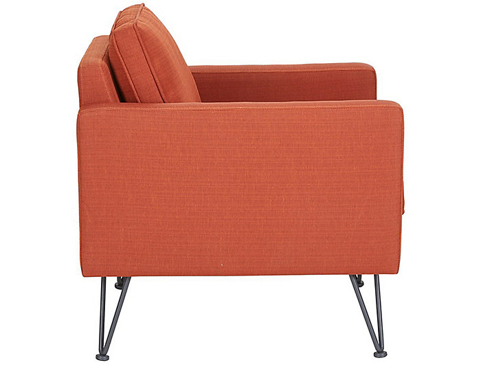 Bran Lounge Chair, Orange, , large