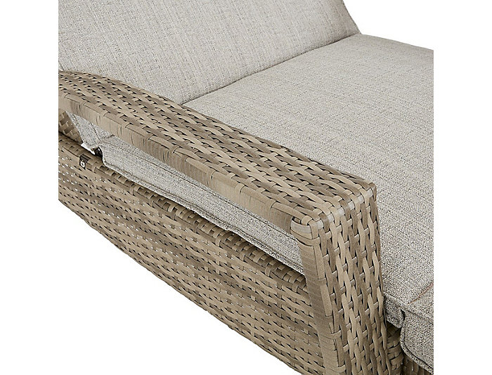 Bronn Beige Lounge Chaise, , large