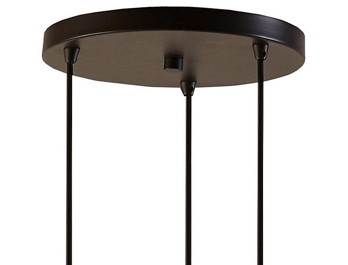 Oslo Bronze 3-Light Pendant, , large