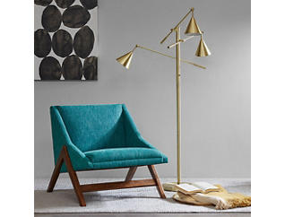 Sullivan Gold Floor Lamp, , large