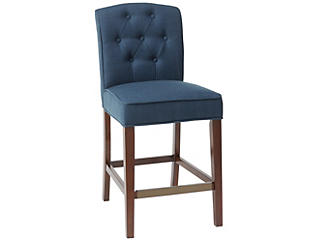 Marian Navy Counter Stool, , large