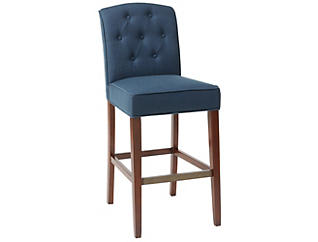 "Marian Navy 30"" Bar Stool, , large"