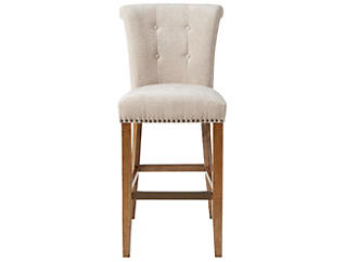 "Colfax Cream 30"" Bar Stool, Cream, large"